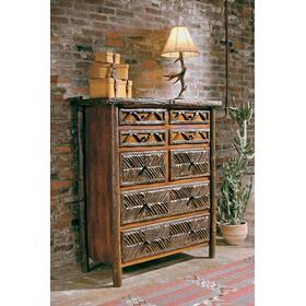 JP 334 Mosiac Eight Drawer Chest