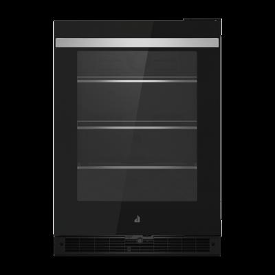 "24"" NOIR Under Counter Glass Door Refrigerator, Right Swing Photo #1"