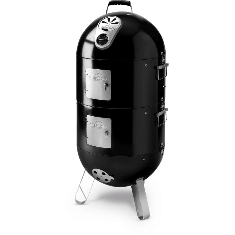 Apollo 200 Charcoal Grill 3 in 1 Smoker and Grill , Black , Charcoal
