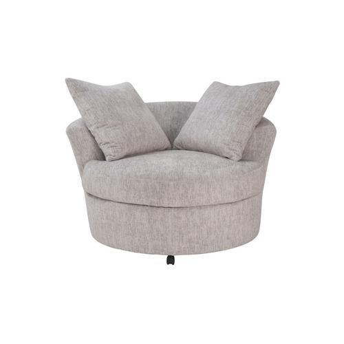 Porter International Designs - Big Chill Parchment Swivel Chair, AC4439