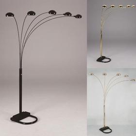 "Pewter Shade Floor Lamp 82""h"