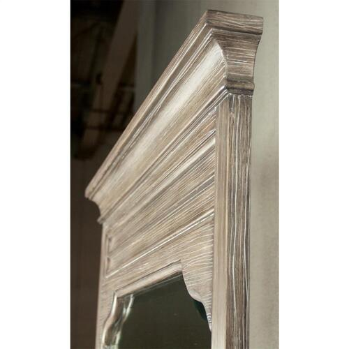 Myra - Landscape Mirror - Natural Finish