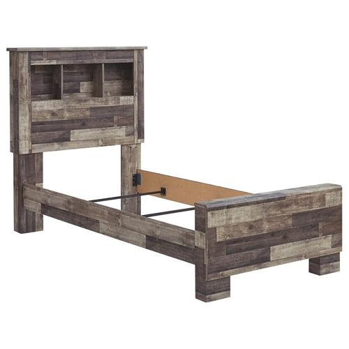 Derekson Twin Panel Bookcase Bed