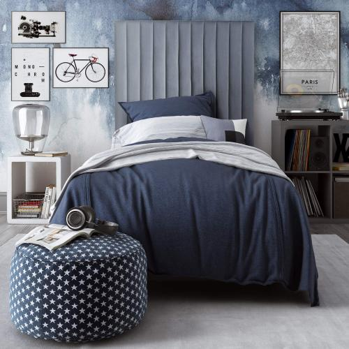 Tov Furniture - Arabelle Grey Bed in Twin