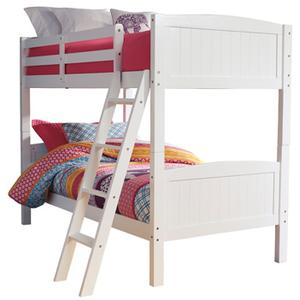 Kaslyn Twin Bunk Bed Rails and Ladder