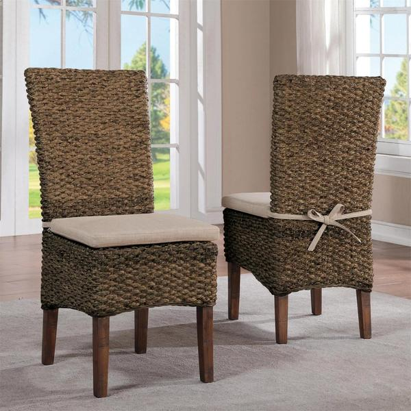 See Details - Mix-n-match Chairs - Woven Side Chair - Hazelnut Finish