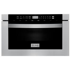 """Zline KitchenZLINE 24"""" 1.2 cu. ft. Built-in Microwave Drawer in Stainless Steel (MWD-1) [Color: Stainless Steel]"""
