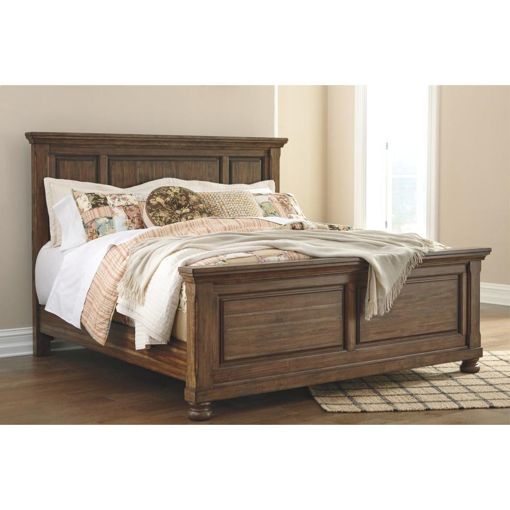 Flynnter King Panel Bed