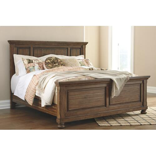 California King Panel Bed With Dresser