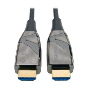 High-Speed HDMI Fiber Active Optical Cable (AOC) - 4K HDR @ 60 Hz, 4:4:4, (M/M), Black, 15 m