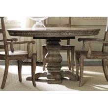 Sorella Pedestal Dining Table w/1-20'' leaf