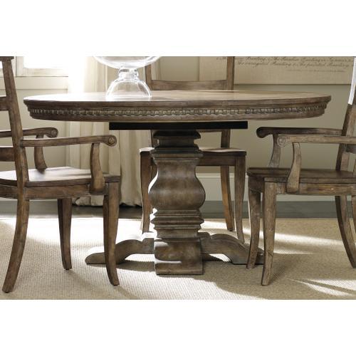 Product Image - Sorella Pedestal Dining Table w/1-20'' leaf