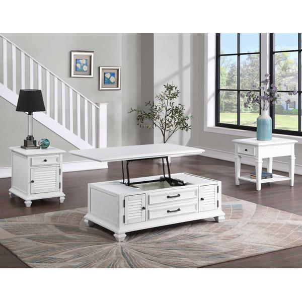 See Details - Charlestown 3-Piece Lift-Top Occasional Set (Lift-Top Cocktail & Two End Tables)