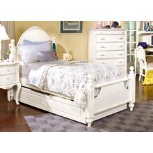 See Details - French Style Poster Bed Shown With Optional Trundle