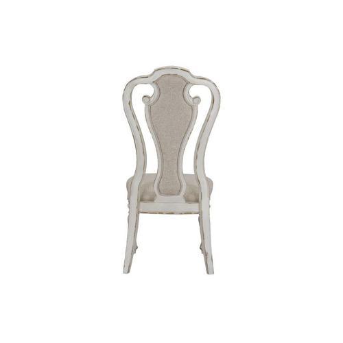 Standard Furniture - Stevenson Manor 2-Pack Upholstered Side Chair, Distressed White