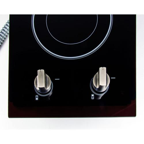 Magic Chef - 12-Inch Electric Cooktop 240V