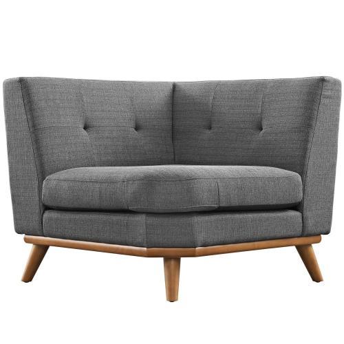 Modway - Engage Corner Sofa in Gray