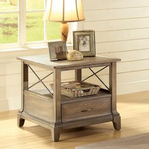 Windhaven - Side Table - Shenandoah Barnwood Finish