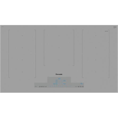 Thermador - 36-Inch Masterpiece® Liberty Induction Cooktop, Titanium Gray, Frameless