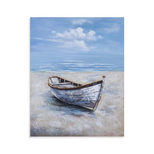 Beached Rowboat