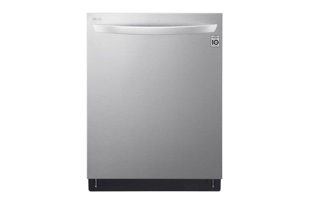 Top Control Smart wi-fi Enabled Dishwasher with QuadWash™ and TrueSteam®