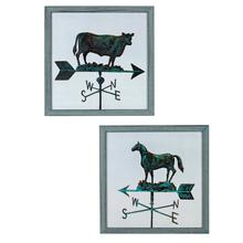See Details - COW & HORSE