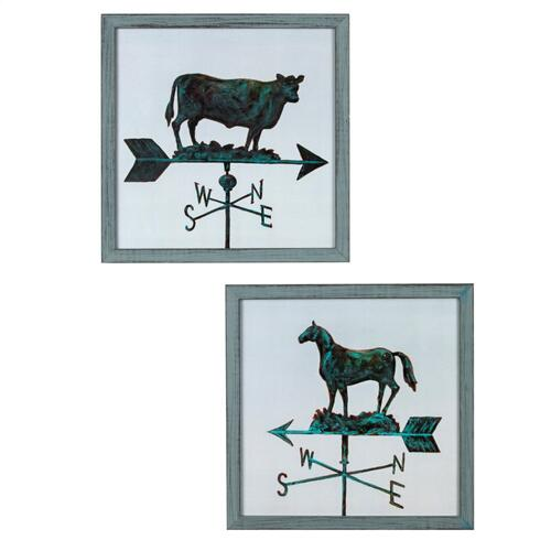 Crestview Collections - COW & HORSE