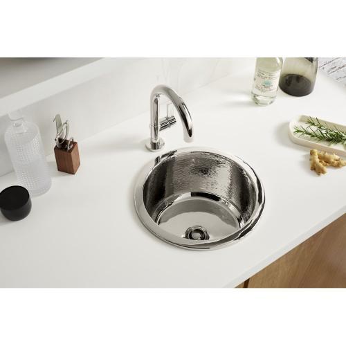 Round Bar Sink - Nickel Silver
