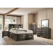 Emily Grey Storage Bedroom