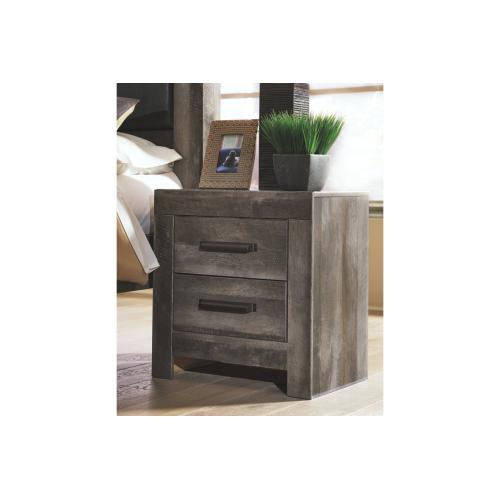 Wynnlow Two Drawer Night Stand Gray