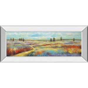 """Serene Vista"" By Georges Generali Mirror Framed Print Wall Art"