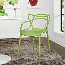 Entangled Dining Armchair in Green
