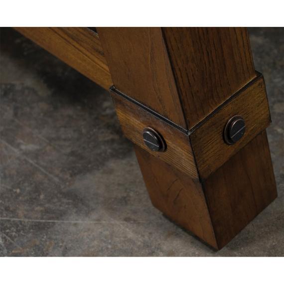 Riverside - Windridge - Angled Leg Coffee Table - Sagamore Burnished Ash Finish