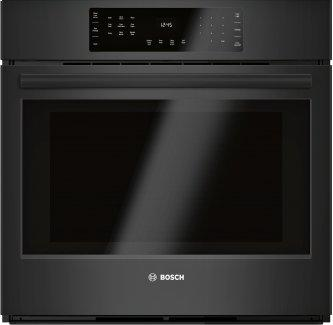 800 Series Single Wall Oven 30'' Black Stainless Steel HBL8463UC