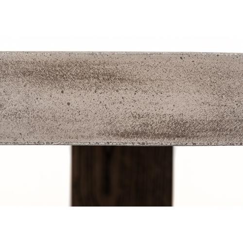 Modrest Rime Modern Concrete & Oak Dining Table