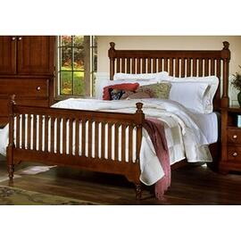Slat Poster Bed Cottage Collection - King