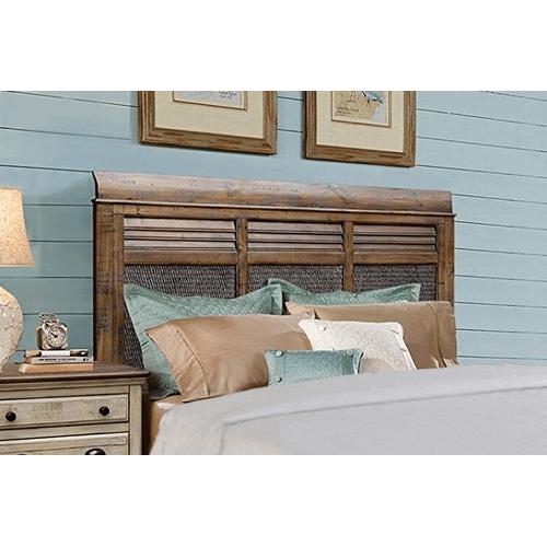 Cottage Creek Furniture - Brockton Hamlet Bed, Queen side rails.