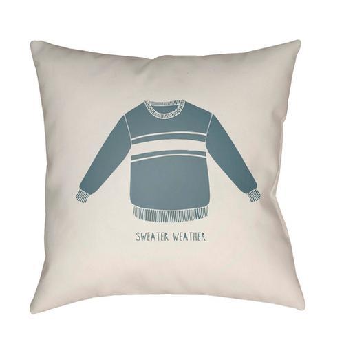 """Surya - Sweater Weather SWR-001 18""""H x 18""""W"""