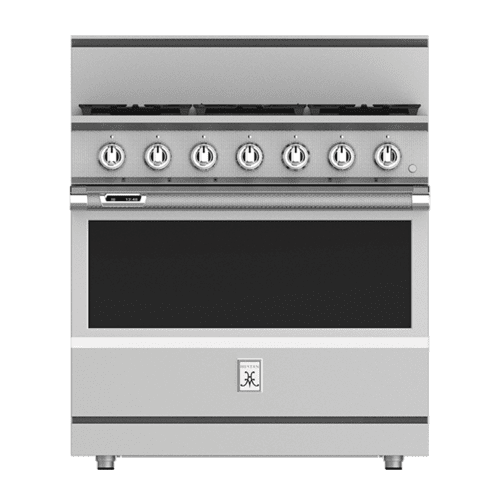 "Hestan - 36"" 5-Burner Dual Fuel Range - KRD Series - Bora-bora"