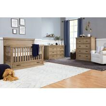 Langford 6-Drawer Dresser in Driftwood