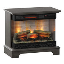 PanoGlow 3D Infrared Quartz Electric Fireplace