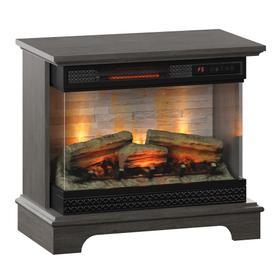 PanoGlow 3D Infrared Quartz Electric Fireplace