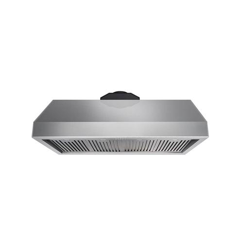 Product Image - 48 Inch Professional Range Hood, 16.5 Inches Tall In Stainless Steel