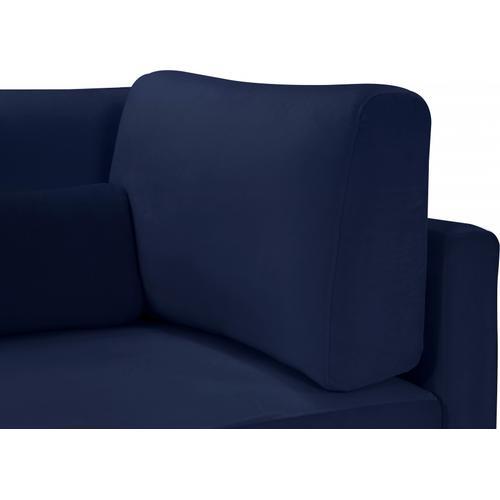 "Julia Velvet Modular 142"" Sofa - 142"" W x 37.5"" D x 33"" H"