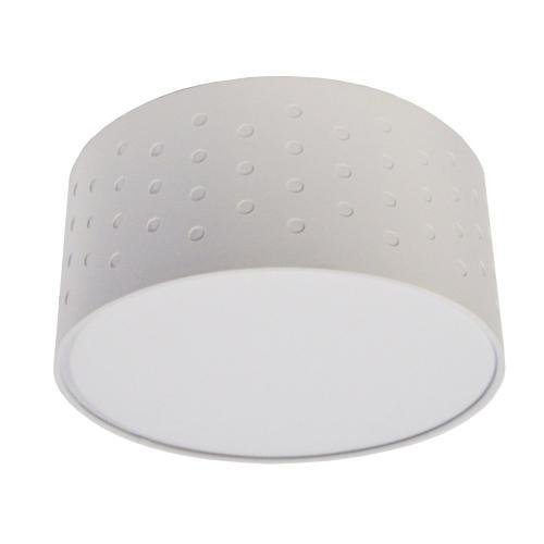 3lt Semi Flush, White/white