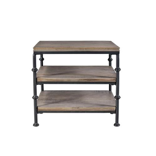 Revival - Side Table - Spanish Grey Finish