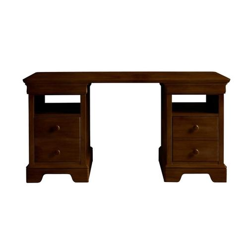 Teaberry Lane Midnight Cherry Partners Desk