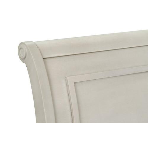 Gallery - Sarah Queen Sleigh Bed Headboard, White