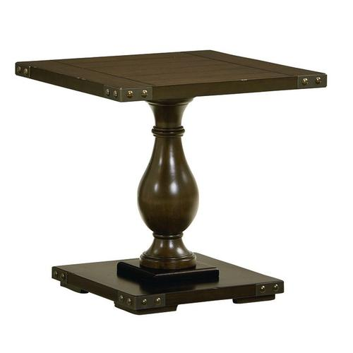 Pierwood End Table, Brown
