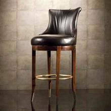 Leather Barstool-setup